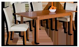 Étkező asztal és szék - Siófok